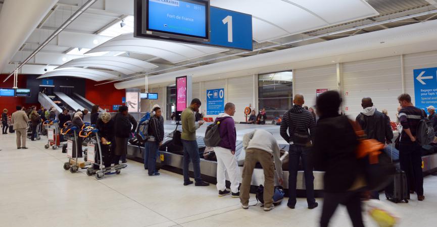 recup valise aeroport